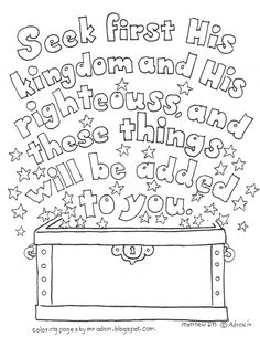 Coloring Pages for Kids by Mr. Adron: Carry Each Others