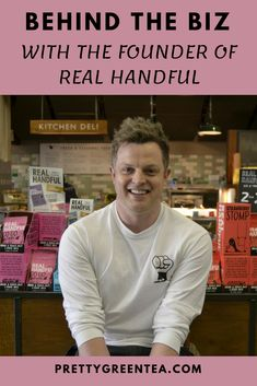 In today's Behind the Biz interview we're diving into the world of healthy but unruly snacks. I chat with Joe Taylor, the founder of Real Handful –. Joe Taylor, Nutritious Snacks, T Play, Very Excited, Interview, About Me Blog