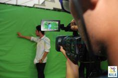 Student's using the latest iMovie software at the #NILA campus @NilaGurgaon