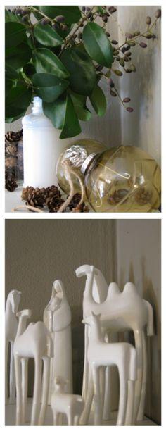 love the nativity set
