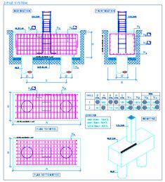 Pile cap for 2 piles | detallesconstructivos.net