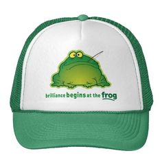 Begin At The Frog Funny Orchestra Joke Hats
