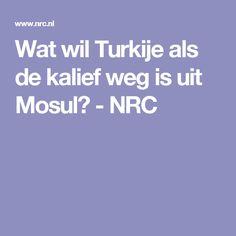 Wat wil Turkije als de kalief weg is uit Mosul? - NRC