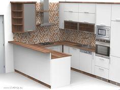 Kuchyně do U