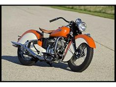 1942 Indian Scout motocycle, sweet!