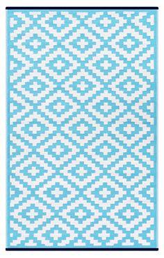 Amazon.com: Lightweight Outdoor Reversible Plastic Nirvana Rug (5 X 8, Leaf Green/White): Kitchen & Dining