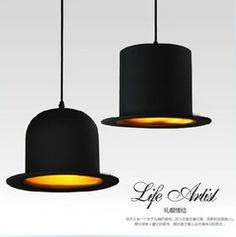 Online Shop British ceremony hat topped dome chandelier creative bar restaurant chandelier lamp aisle lights fashion Aliexpress Mobile