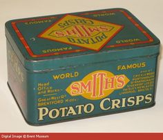 Smith's Potato Crisps Tin | Explore 20th Century London