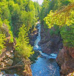Copper Falls state park, WI