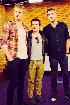 the boys of the hunger games