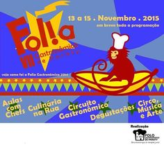 Respeitável público! O circo vai invadir a cidade durante a VII Folia Gastronômica de Paraty, num grande espetáculo de cores e sabores!   Dias 13, 14 e 15 de novembro! Marque na agenda!  #FoliaGastronômicaDeParaty #FoliaGastronômica #FoliaGastronômicaParaty #PoloGastronômico #PoloGastronômicoParaty #PoloGastronômicoDeParaty #culinária #gastronomia #cultura #turismo #arte #VisiteParaty #TurismoParaty #Paraty #PousadaDoCareca