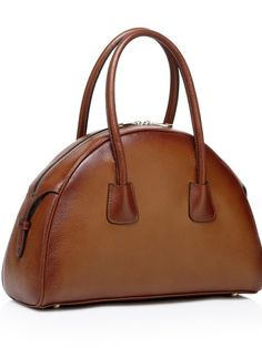 d21f44ad20bb Sehorn Brown Leather Tote Fashion Bags