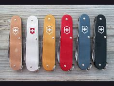 Victorinox Cadets. Hard to find colors now.