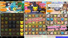 Pokemon_Shuffle_Mobile_v1.1.0_Mod_APK Nintendo 3ds, Android, Puzzles And Dragons, Pokemon Gif, Mudkip, Level Up, How To Introduce Yourself, Video Games, Battle