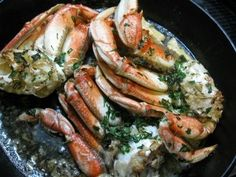 Oven roasted dungeness crab recipe
