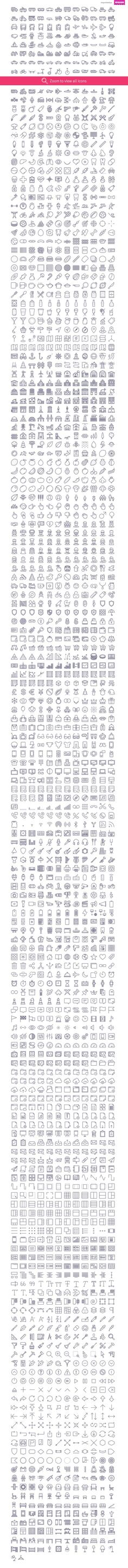 2090 icons in UniGrid set by Icojam on Creative Market. icojam, stroke, outline, ios, food, transport, military, buildings, devices, finance, tools, wireframe, music, people, baby, medicine, science, unigrid, christmas, interior: