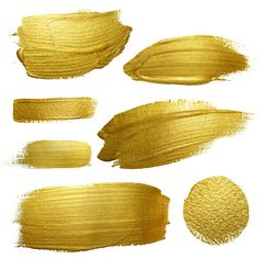 Find Gold Paint Smear Stroke Stain Set stock images in HD and millions of other royalty-free stock photos, illustrations and vectors in the Shutterstock collection. Sparkles Background, Textured Background, Paint Strokes, Brush Strokes, Paint Vector, Vector Art, Image Vector, Texture Art, Texture Painting