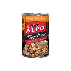 Purina ALPO Chop House Rotisserie Chicken Flavor In Gourmet Gravy Wet Dog Food - oz. Cans ** You can get additional details at the image link. (This is an affiliate link and I receive a commission for the sales) Gourmet Chicken, Chicken Flavors, Best Apple Cider Vinegar, T Bone Steak, Best Green Tea, Green Tea For Weight Loss, Dog Food Brands, Wet Dog Food, Dog Dental Care