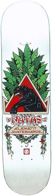 Element Natas Kaupas Panther Deck by Clever, via Flickr