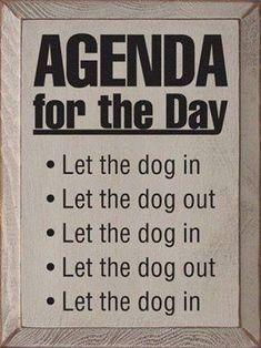 To do list: