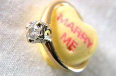 Cute engagement idea.