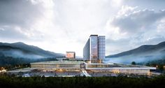 Ulju Government Complex by Samoo Architects & Engineers in Ulsan, Korea