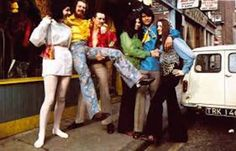 1960s vintage shirts-Carnaby street in the 60s