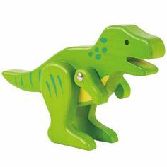 Le t-rex en bambou de la marque Everearth permettra à votre enfant d'avoir une jolie collection d'animaux qui développeront son imagination !