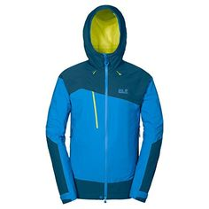 Jack Wolfskin Mens Gravity Air Texapore Jacket Brilliant Blue Large -- You can find out more details at the link of the image.(This is an Amazon affiliate link and I receive a commission for the sales)