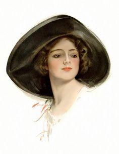 Dorothy Gibson, Harrison Fisher model and Titanic survivor.