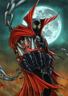 Spawn (Simmons) - Factpile Wiki - Wikia  Check Out http://stuffnerdslike.tv/ for all your favorite quirky gifts and interesting technology..