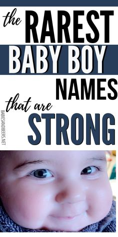 New and unique names, list of strong, masculine, and rare baby boy first names to help you decide on a name! Baby Boy Name List, Baby Girl Names, Unique Boy Names, Names With Meaning, First Names, Helpful Hints, Meant To Be, Middle, Parenting