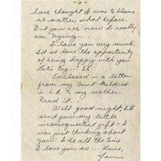 Janis Joplin Handwritten Letter. A six-page han Janis Joplin Handwritten Letter.
