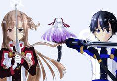 Kirito, Asuna and Yuna /Ordinal scale