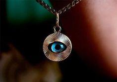 """Το """"κακό μάτι"""" και οι ευχές που το διώχνουν! - Filenades.gr Greek Evil Eye, True Words, Life Is Beautiful, Pendant Necklace, Drop Earrings, Jewelry, Religion, Cyprus, Problem Solving"""