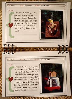 Love this idea. We do the ornament tradition already so this would be a great way to document and journal about them.
