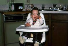 Ha! My Mom has sent Jonathan Silver Scott & I a few baby pics. I KNEW knit booties were stylish:)