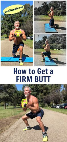 This workout will help give your glutes a nicer, stronger shape. Here are 13 exe… This workout will help give your glutes a nicer, stronger shape. Here are 13 exercises for firm buttocks and symmetrically developed legs, even after the age of fifty. Fitness Workouts, Ace Fitness, Sport Fitness, Health And Fitness Tips, Physical Fitness, Fitness Goals, Fun Workouts, At Home Workouts, Fitness Motivation
