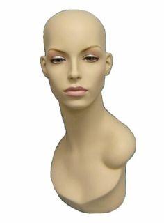 Female Wig Display, Sunglass Display, Jewelry Female Display