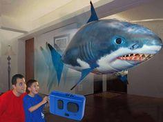 Air Swimming Shark