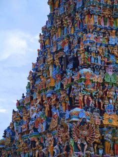Meenakshi Amman Temple – India's Dazzling Shrine Saturated with Statues ~ Kuriositas