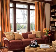 A Gorgeous Room The Honey colored Wood Paneling Sets