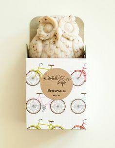 Coffee Scrub Soap  NOCTURNALIA Owl Soap  by seventhtreesoaps, $9.00 So many pretty vegan soap!