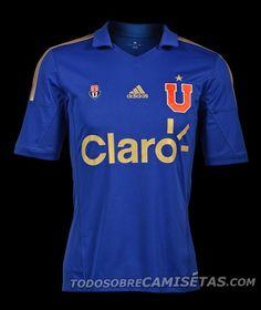 Universidad de Chile, Home Kit (Adidas, 2013/2014)