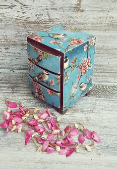 mini chest of drawers trinket box jewellery box jewelry