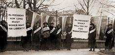 1918 National Womens Party Demonstration