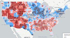 Gun violence data visualization