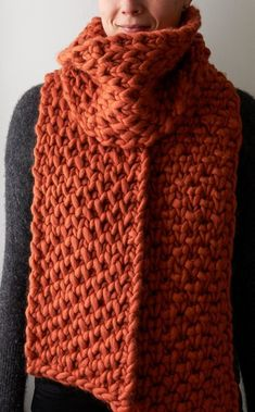 Free Knitting Pattern for Lattice Brioche Super Scarf
