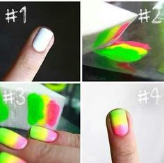 OMBRE NAIL ART, tutorial