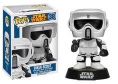 Pop! Star Wars: Biker Scout